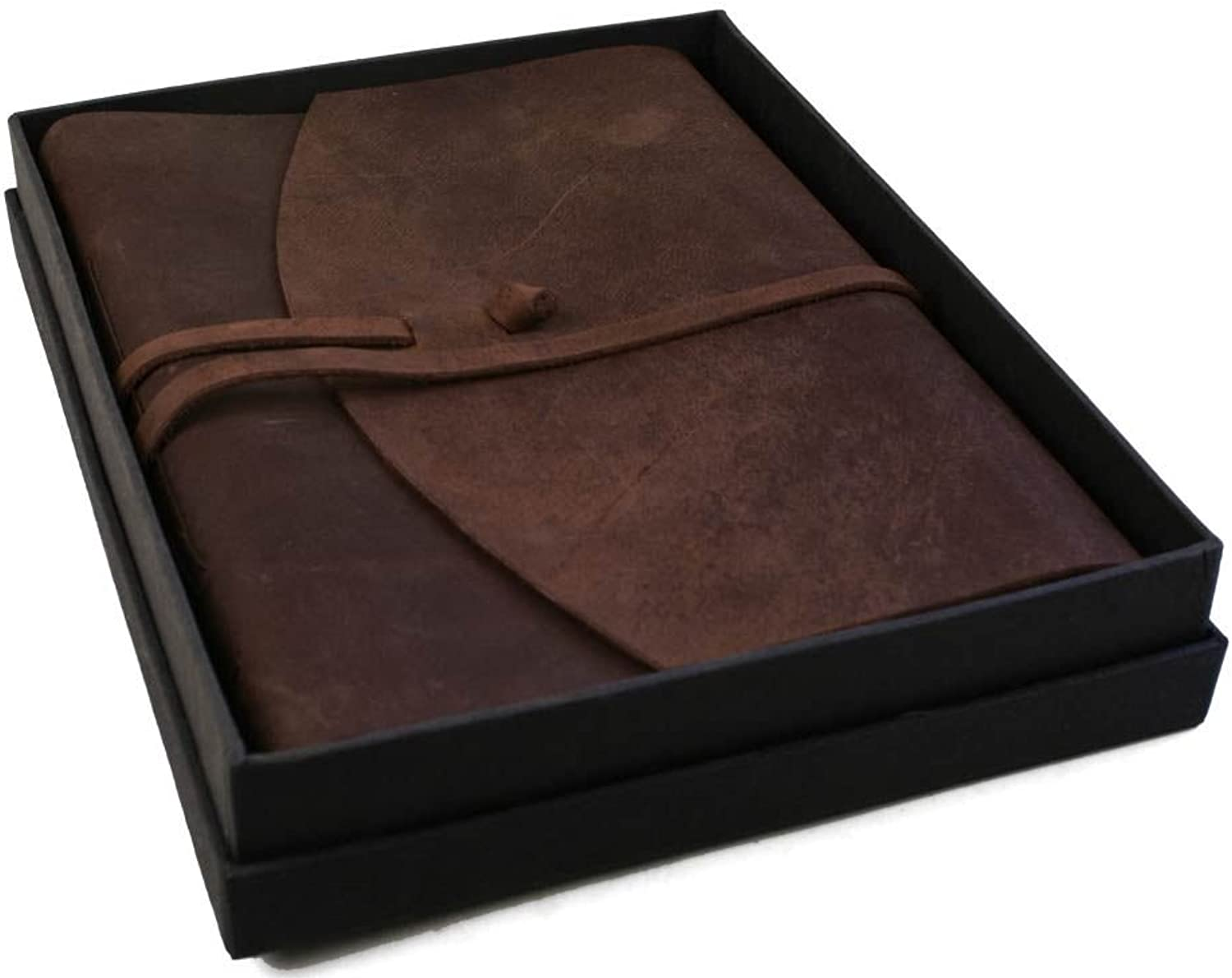 Indiana Leather Refillable Journal Savannah, A4 Plain Pages  Handmade by Life Arts