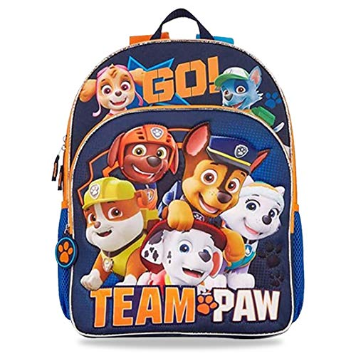 Tomicy Paw Patrol Mochilas Escolares Niños, Mochila Escolar Mighty Pups, Mochila Infantil Colegio o Guarderia, Material Escolar para Niños Patrulla Canina, Regalos para Niños Niñas
