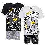 Batman Pijama de Verano de Algodón Negro (3 Años)