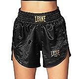 LEONE 1947 Pantaloncini Kick-thai Donna Nero, S