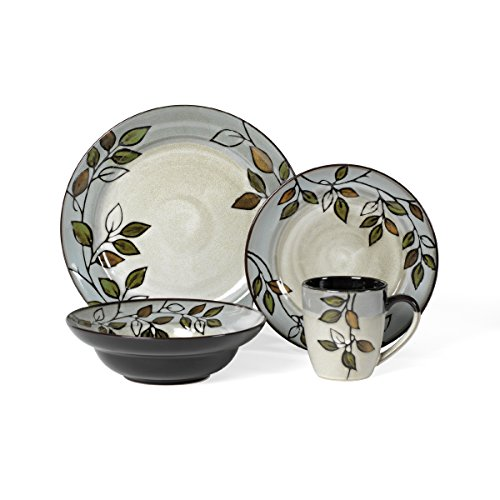 16-Piece Stoneware Dinnerware Set, Service for 4 (13% Off)