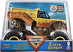 OFFICIAL MONSTER JAM: Ramp up your game with the all-new 1:24 scale monster truck! With more details and graphics than ever before, this authentic replica has the style and swagger of the real thing! REALISTIC FEATURES: A working suspension system ab...