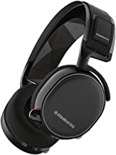 SteelSeries Arctis 7 Lag-Free Wireless Gaming Headset with DTS Headphone:X 7.1 Surround for PC, PlayStation 4, VR, Mac and Wired for Xbox One, Android and iOS - Black (Renewed)