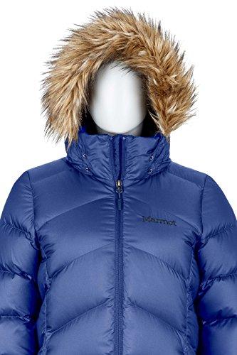 Marmot Montreaux Women's Full-Length Down Puffer Coat, Fill Power 700, Arctic Navy, Large