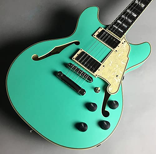 D'Angelico Deluxe Mini DC Limited Edition Matte Surf Green エレキギター ディアンジェリコ
