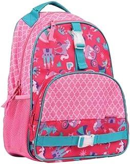 Stephen Joseph Princess All-Over Print Backpack for Girls - Pink