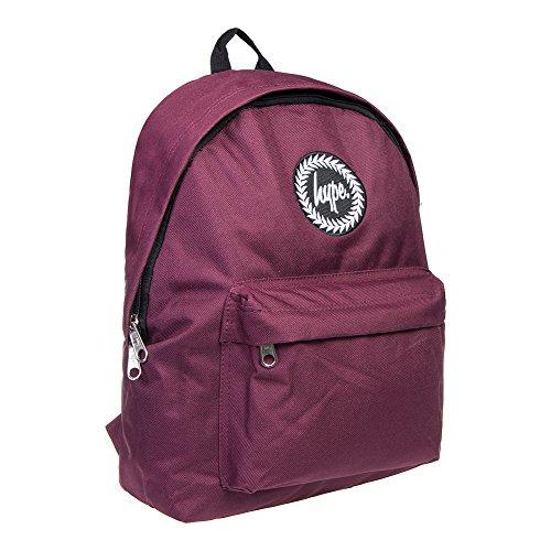 Hype Rucksack Tasche - Verscheidene Farben - Weinrot, Einheitsgröße