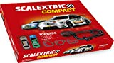 Scalextric-C10256S500 Circuito Pistas Tornado Chase, Color Rojo, única (Scale Competition Xtreme C10256S500)