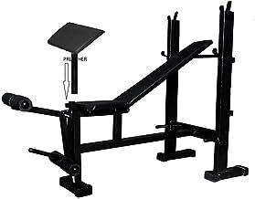 Produman 4 in 1 Gym Bench with Preacher Free(2 * 2)