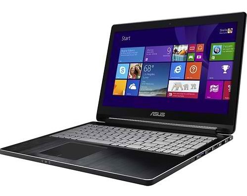 Asus Q502LA-BBI5T12 15.6in Touch-Screen Laptop Convertible - Intel Core i5, 8GB, 1TB Black (Renewed)