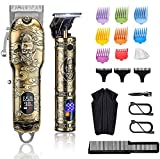 Suttik Professional Hair Clippers and Trimmers Set,...