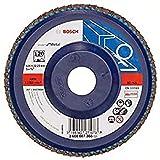 Bosch 2608607365 - Disco lamellare, grana 40, ø disco 125 mm, ø foro 22,23 mm, 1 pezzo