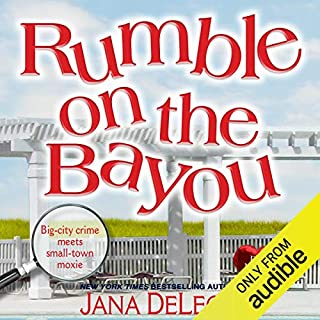 Rumble on the Bayou                   By:                                                                                                                                 Jana DeLeon                               Narrated by:                                                                                                                                 Johanna Parker                      Length: 9 hrs and 40 mins     359 ratings     Overall 4.4