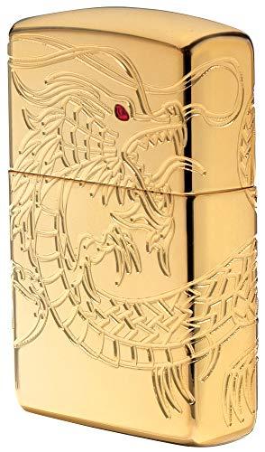 Zippo Zippo Sturmfeuerzeug 60002847 Dragon Multi Cut - Armor High polish Gold Plate with Epoxy Inlay - Special Editions 2016/2017 Armor High Polish Gold Plate With Epoxy Inlay (Dragon Multi Cut )