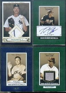 2005 Origins Old Judge Materials Jersey #MR Manny Ramirez Jersey Card