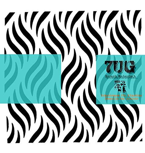 7UG Designer Schablone Wellen/Waves für Mixed Media Künstler