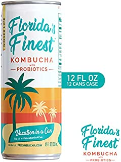 Florida's Finest Kombucha (12pk)