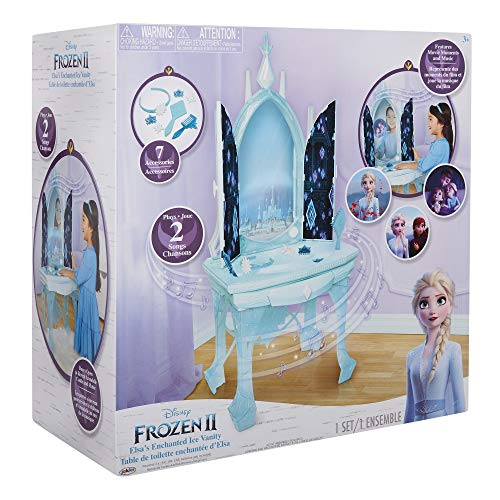 Giochi Preziosi Disney Frozen 2, Elsa Magica Specchiera Palazzo di Ghiaccio