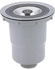 スギコ 中型 防臭排水トラップ(50A)OF穴無 樹脂カゴ TO-282WP