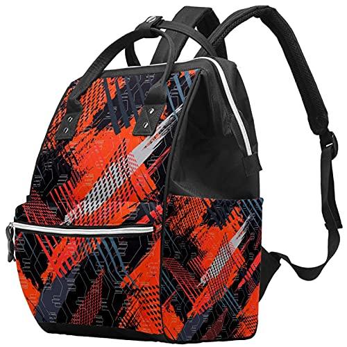 Laptop-Rucksack, wasserdichte Wickeltasche, Stilltasche, Reise-Wickeltasche, Hockeyschläger