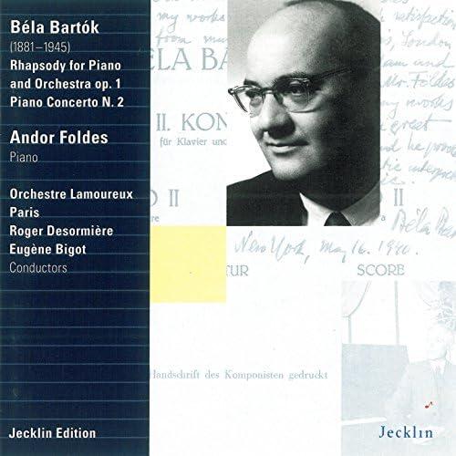 Andor Foldes, Roger Desormière & Eugène Bigot