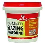 Red Devil 0662 Glazing Compound, 1/2 Pint, White