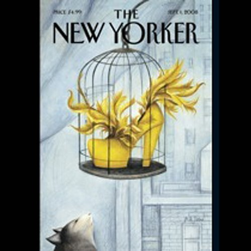 Couverture de The New Yorker, September 1st, 2008 (John Colapinto, Ryan Lizza, John Updike)