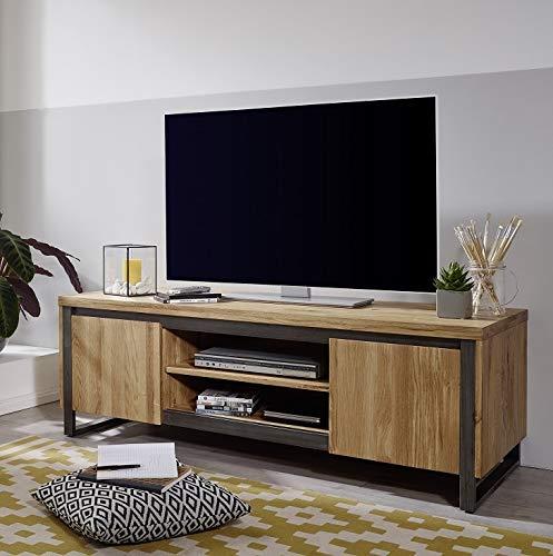 Main Möbel Lowboard 150cm \'Taipeh\' Wildeiche massiv