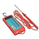ILS–Handheld eléctrico Valla Detector de voltaje 600V a 7000V Voltaje Medir Herramientas de Jardinería