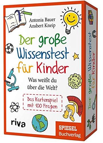 Der große Wissenstest für Kinder – Was weißt du über die Welt?: Das Kartenspiel mit 100 Fragen