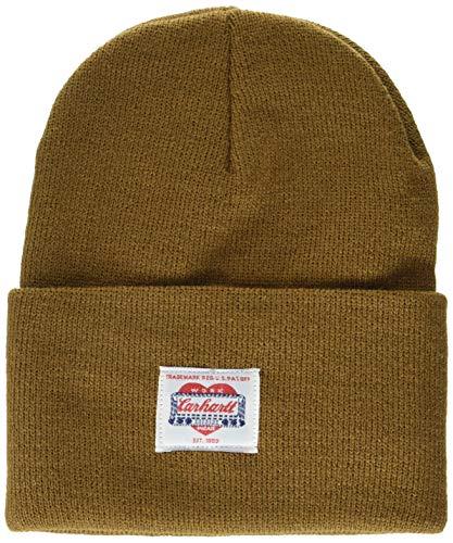 Carhartt Heritage Beanie Sombrero, marrón, Talla única Unisex Adulto