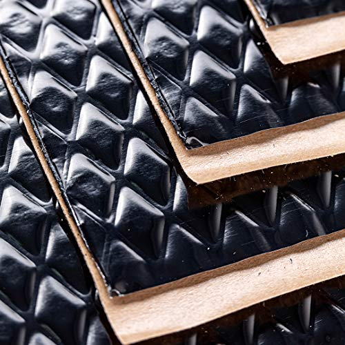 Noico Black 80 mil 18 sqft Car Sound Deadening Mat, Butyl Automotive Sound Deadener, Audio Noise Insulation and Dampening