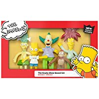 The Simpsons(ザ・シンプソンズ)The Krusty the Clown Show Bendable Figures Boxed Set(フィギュア) [並行輸入品]