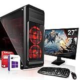 Komplett PC-Paket Set • AMD FX-8800 4X3.4GHz • 8GB DDR4 • 512GB M.2 SSD und 1TB •HD DirectX12 • WLAN • USB 3.1• Win10 • 27 Zoll LED TFT Monitor • Computer