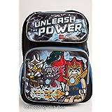 Backpack - Lego - Chima - Unleash Power Black Large School Bag New 078885