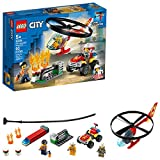 LEGO City Fire Helicopter Response 60248 Firefighter Toy, Fun Building Set for Kids, New 2020 (93 Pieces)