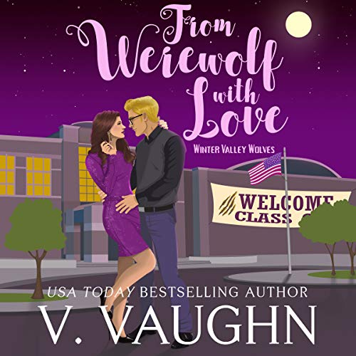 From Werewolf with Love Audiobook By V. Vaughn cover art
