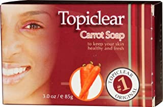 Topiclear Carrot Soap. 3.0oz [Misc.]