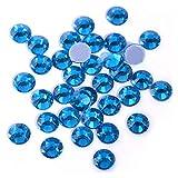 QQINGHAN Rhinestone Flatback mejor cristal Hotfix Rhinestone Glitter Iron On Rhinestones ropa (color: 0015, tamaño: SS30-288pcs)