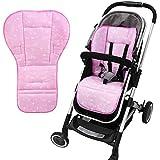 ベビーカーシート ストロラーマット リバーシブル マルチ クッション シート 赤ちゃんに優しいコットン使用 (1)