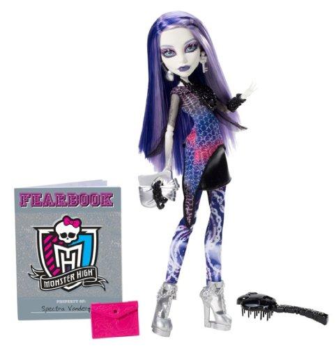 Monster High Picture Day Poupée Spectra Vondergeist