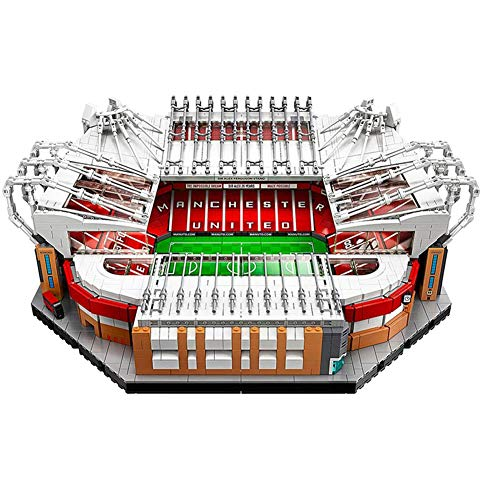 Lego — Famous Football Stadiums Building Kit Creator Manchester United — Old Trafford Stadium 3D Puzzle, 3900 Pcs Building Blocks Model, Fit 14 Years Old Over Boys And Girls Building Blocks 47*39*18Cm