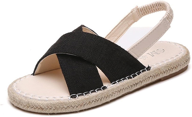 Women's Summer Ankle Straps Espadrilles Sandals shoes