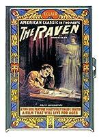 Edgar Allan Poe The RavenステンレススチールIDまたはCigarettesケース( Kingサイズまたは100mm )