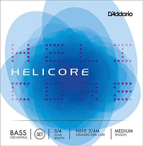 D'Addario / Helicore Orchestral コントラバス弦セット