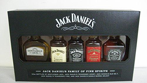 Jack Daniels Geschenkset MINI je 0,05l Family of Fine Spirits