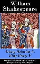 E-Book-Cover King Henry V. / König Heinrich V.