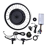 VGEBY Bicicleta de montaña Convertir a Eelctric Bike Kit con 36V 500W Motor 20inch Wheel KT-LCD5 Meter(for Rear Drive Rotating flywheel)