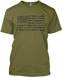 Best Gun American Flag - 2nd Amendment Rights USA Men