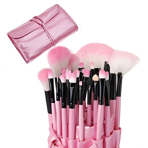 32-teiliges Make-up-Pinsel-Set für Grundierung, Puder, Lidschatten, Puder, Rouge, Lippenstift,...